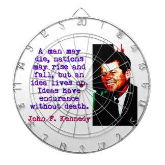Un homme peut mourir - John Kennedy Jeux De Fléchettes