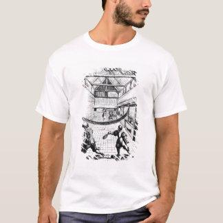Un jeu royal de tennis dans Jeu de Paume T-shirt