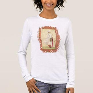 Un jeune noble de la cour de Mughal, du Lar T-shirt À Manches Longues