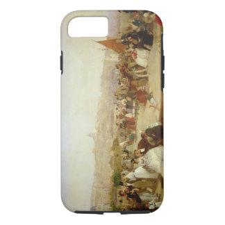 Un jour à Boulogne, 1870 (huile sur la toile) Coque iPhone 7