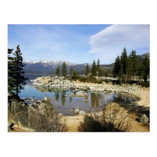 Un jour à la carte postale du lac Tahoe