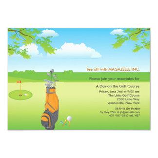Un jour d'invitation de golf