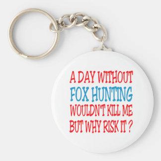 Un jour sans chasse de Fox ne me tuerait pas Porte-clé