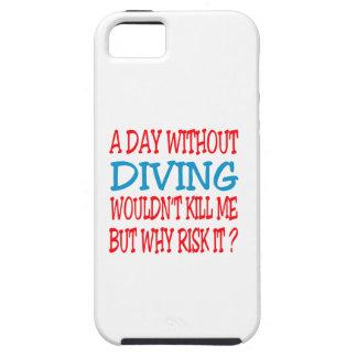 Un jour sans plonger ne me tuerait pas coques iPhone 5 Case-Mate