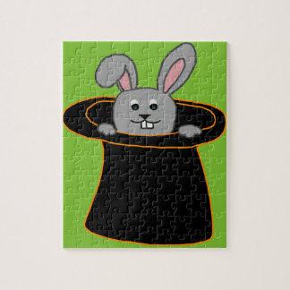 Un lapin dans le casquette puzzle