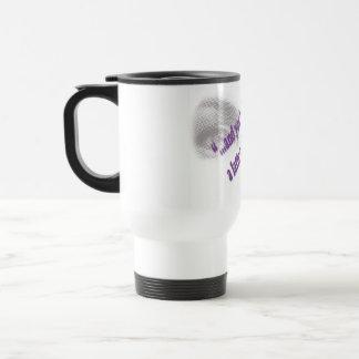 Un Latte et une prière Mug De Voyage