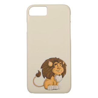 un lion mignon coque iPhone 7