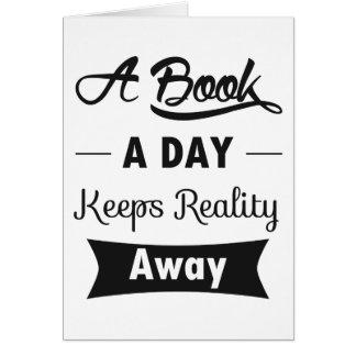 Un livre par jour maintient la réalité partie cartes