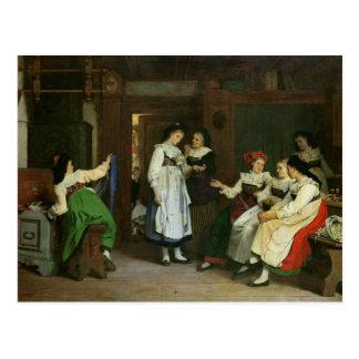 Un mariage en Alsace inférieure Carte Postale