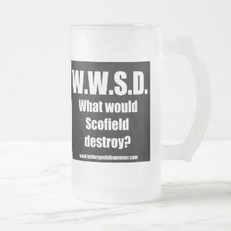 Un meilleur geek que jamais - la tasse de WWSD