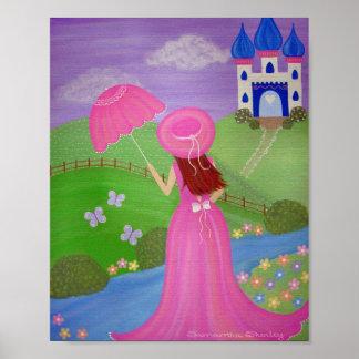 Un mille et une nuits - 8x10 princesse Castle Kids Posters