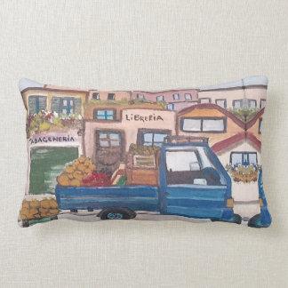 Un mini camion du marché - coussin
