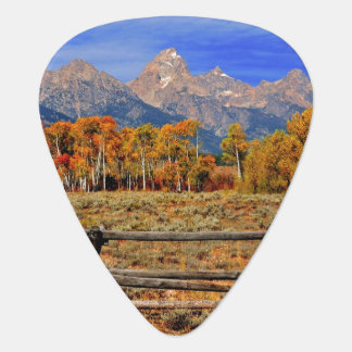 Un moment au Wyoming en automne Onglet De Guitare