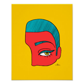 Un morceau de visage poster