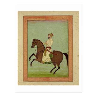 Un noble de Mughal à cheval, c.1790, du Larg Carte Postale