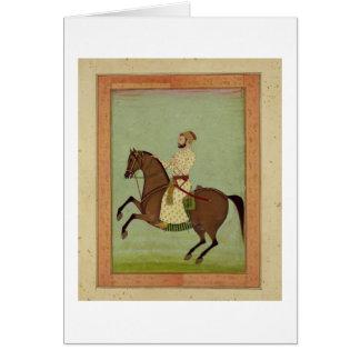 Un noble de Mughal à cheval, c.1790, du Larg Cartes
