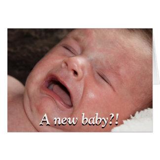 Un nouveau bébé ? ! Bonne chance avec cela ! Drôle Cartes