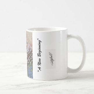 """""""Un nouveau début """" Mug"""