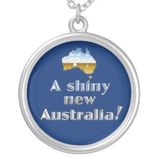 Un nouveau pendentif brillant de l'Australie