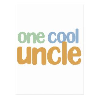 Un oncle frais T-Shirt Carte Postale