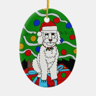 Un ornement de Noël de Doggo