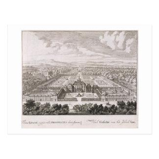 Un palais princier, de 'Admirandorum S quadruplex Carte Postale
