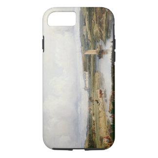 Un paysage étendu de rivière avec une vue du ch coque iPhone 8/7