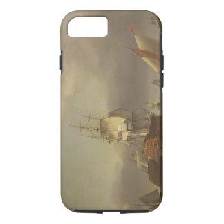 Un paysage marin avec la Homme-de-Guerre et le Coque iPhone 7