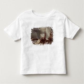 Un pêcheur tirant dans un filet, 1868 t-shirt pour les tous petits