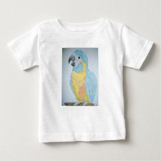 Un perroquet affamé d'ara de bébé t-shirt pour bébé