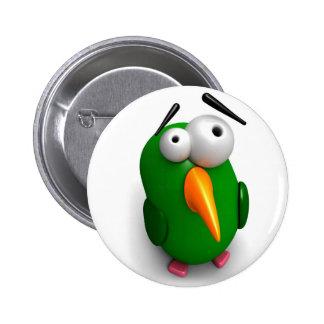 Un perroquet farfelu badges