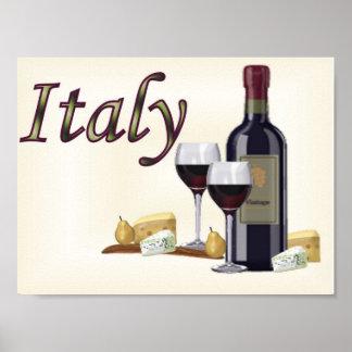 Un peu de l'Italie Posters