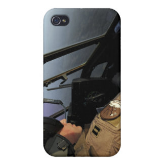 Un pilote de l'Armée de l'Air d'USA C-130J Hercule Coque iPhone 4 Et 4S