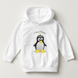 Un pingouin a inspiré le sweat - shirt à capuche