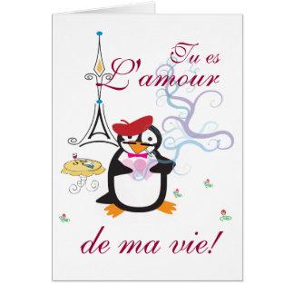Un pingouin dans la carte de Paris