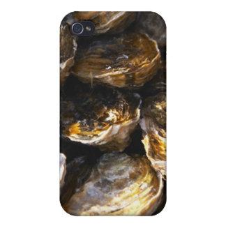 Un plat des huîtres coques iPhone 4/4S