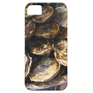 Un plat des huîtres coques iPhone 5