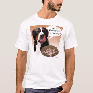 Un plus grand chien suisse Turquie de montagne T-shirt