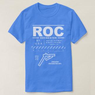 Un plus grand T-shirt de ROC d'aéroport