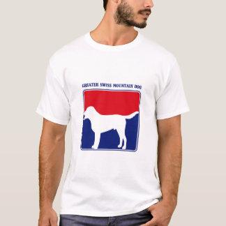 Un plus grand T-shirt suisse de chien de montagne