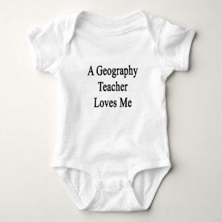 Un professeur de géographie m'aime body