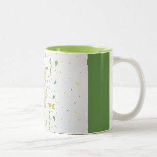 Un renard qui aime le thé tasse 2 couleurs