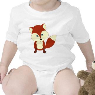 Un renard rouge mignon body pour bébé