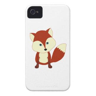 Un renard rouge mignon étui iPhone 4