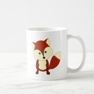 Un renard rouge mignon mugs