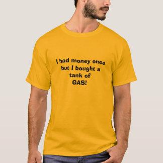 Un réservoir du gaz t-shirt