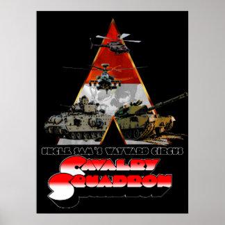 Un rétro-film d'escadron de Cav a dénommé Posters