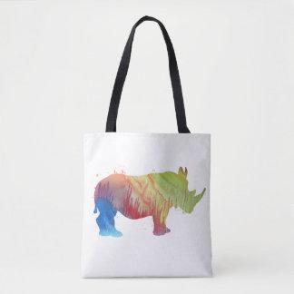Un rhinocéros tote bag