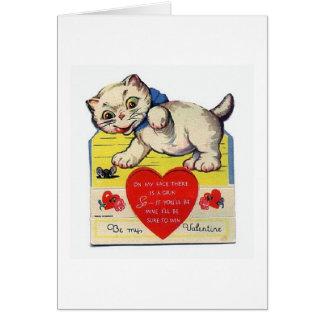 Un Ronronnement-fect Valentine Cartes
