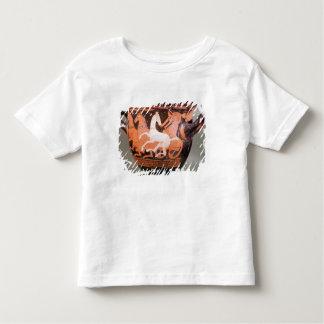 Un rouge-chiffre krater de cloche t-shirt pour les tous petits